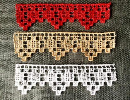 Decorative Filet Edging embroidery design