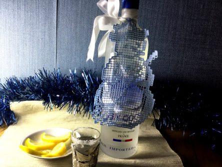 Bottle decor design