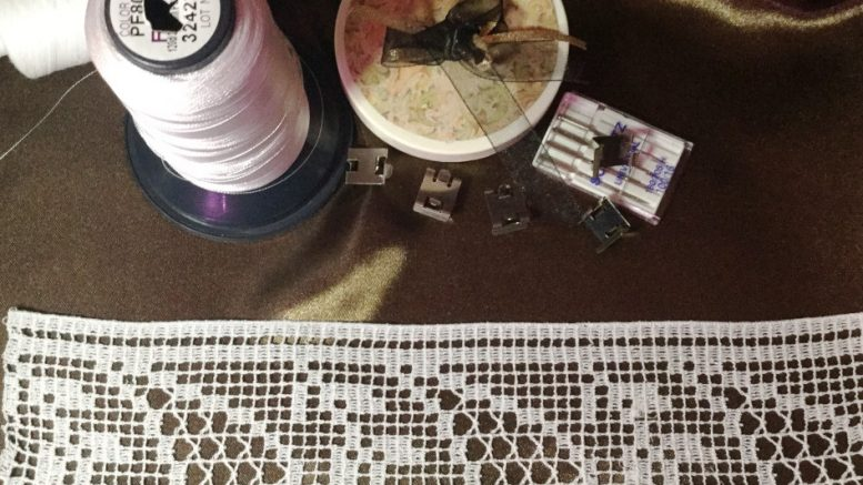 FSL Festoon Lace machine embroidery design set