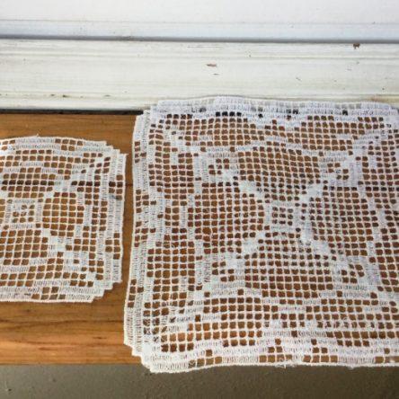 FSL Crochet Doily Set designs