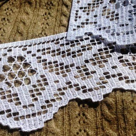 FSL lace border