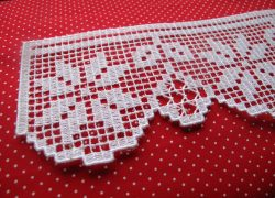 FSL Christmas Poinsettia lace border set
