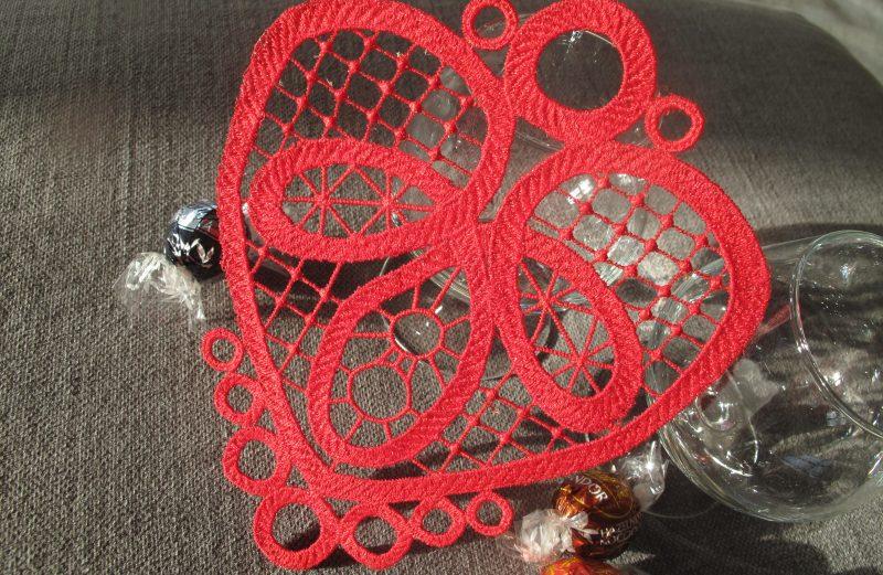 FSL Heart Valentines decor
