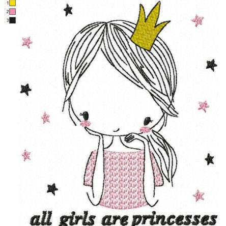 All girls are princesses