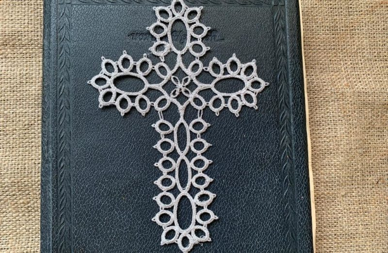 tatting cross machine embroidery designs