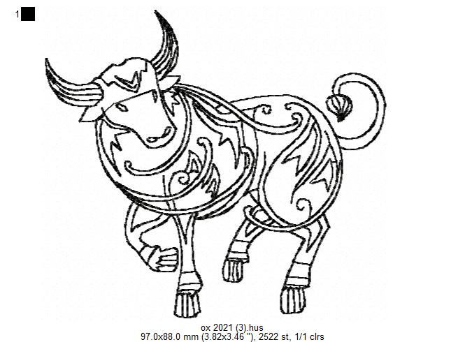 Ox Free Designs For Embroidery Machine