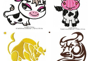 Download OX free machine embroidery designs