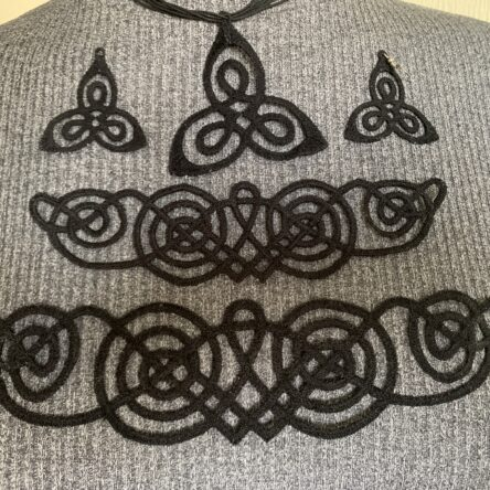 Viking Lace Jewelry embroidery designs