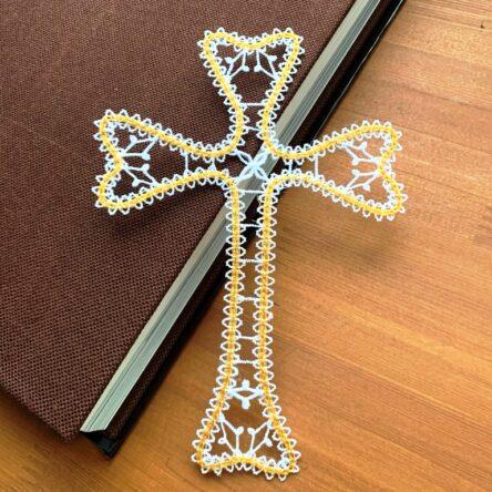 Christian Cross embroidery design