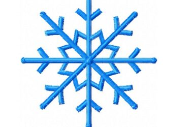 Snowflake machine embroidery designs free download files
