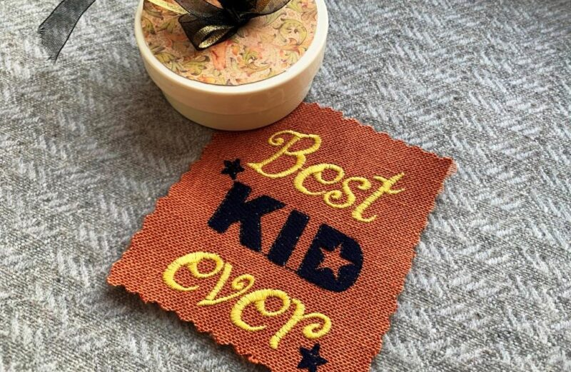 Best Kid Ever embroidery designs