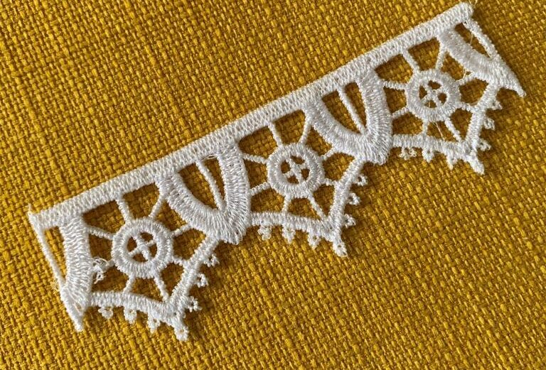 Reticella lace Machine embroidery design