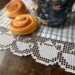 Lace edging for kitchen towels, embroidery design