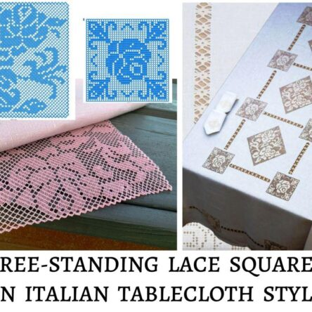 FSL embroidery for tablecloth
